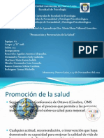 Promocion y Prevencion Salud