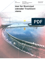 Municipal Waste Water Treatment