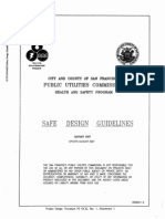 San Francisco Public Utilities Commission Safety Design Guidelines