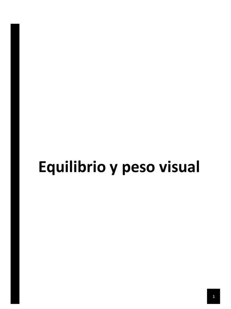 Equilibrio y Peso Visual