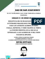 Festividad de San Juan Bosco