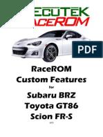 Brz-ft86 - Tuning (Racerom)