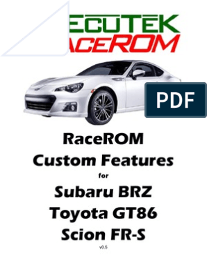 Brz-ft86 - Tuning (Racerom) | Automatic Transmission