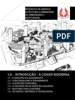 TRABALHO DE HISTÓRIA DO URBANISMO II