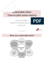 Sustainable Diets -- Lawrence Haddad