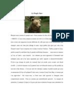 Le Peuple Des Ours