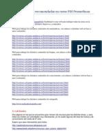 Direcciones Web Recomendadas en Curso PDI Promethean