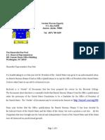 Cover Letter (U.S. Representative Ron Paul)