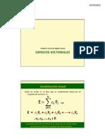 Espacios Vectoriales (1)