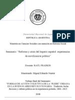 FORMA DE ACCIÓN POLITICA EN LA BUENOS AIRES REVOLUCIONARIA