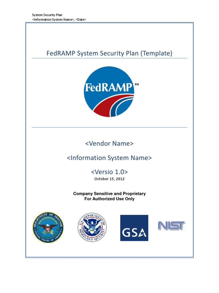 System security plan template 101512508 computer security system security plan template 101512508 computer security online safety privacy maxwellsz