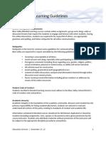 Blended Learning Guidelines