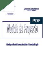 Modelo de Proyecto Direccion de Financiamiento