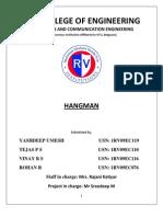 Report Hangman