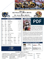 Week 13 - Rams vs. 49ers