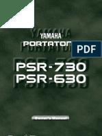 UserManual-YamahaPSR630