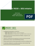 Franks- Overview of REDD+ SES Initiative