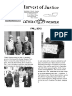 Harvest of Justice Fall 2012