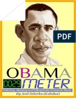 Obama Meter - updated 09.08.29