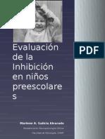Evaluación de Inhibición en niños