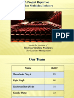 Indian Multiplex Industry