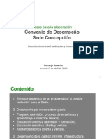Avances CD Concepción