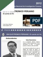 Dni Electronico Peruano el cuento sin fin