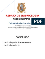 REPASO DE EMBRIOLOGÍA cP3 2012