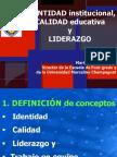 CHARLA-Directores. Barranco - Josefinos