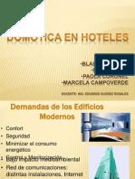 DOMÓTICA EN HOTELES