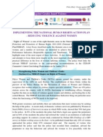 Policy Brief - Forum against Gender-based Violence