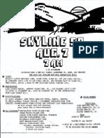 Skyline 50KM Flyer