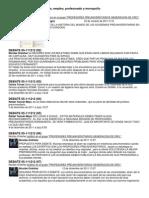 DEBATE 05-111212 Academias, Empleo, Profesorado y Monopolio