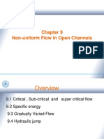 Ch9 Non-Uniform Flow in Open Channels