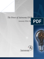 1. Autonomy - Power - IDOL Technology White Paper