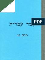 CursoDeHebreo.com.ar - Aprender hebreo Nivel 1 (Cuaderno de estudio escrito totalmente en hebreo) למד עברית / Teach Hebrew