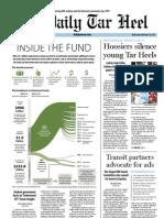 The Daily Tar Heel for November 28, 2012