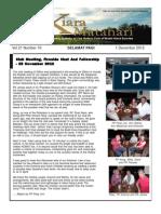 RCBKS Bulletin Vol 21 No 19
