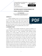 Analysis of Intelligent System Design by Neuro Adaptive Control_norestriction
