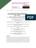 Evaluation of the Saharan Aerosol Impact on Solar Radiation Over the Tamanrasset Area, Algeria_norestriction