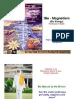 BIO MAGNETISM - FUTURE OF HEALTH