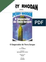 P-031 - O Imperador de Nova Iorque - Perry Rhodan - W. W