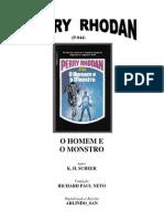 P-044 - O Homem e o Monstro - K. H. Scheer