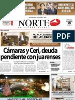 Periodico Norte de Ciudad Juárez 28 de Noviembre de 2012