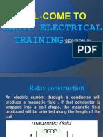 Basic Electrical Training Session-2