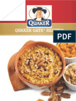 Quaker Oats Recipe Book