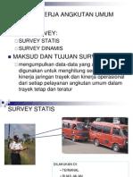 SURVEY Angkutan Umum