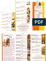 Menu Con Calorie Pizzeria La Taverna