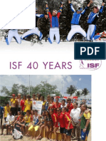 Isf 40 Years New