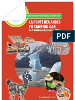 La route des Andes en Camping-Car